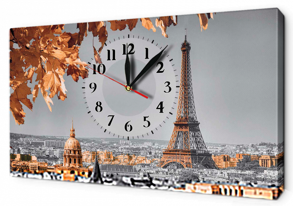 Buy Hours on a canvas 30 x 53 cm of G1312