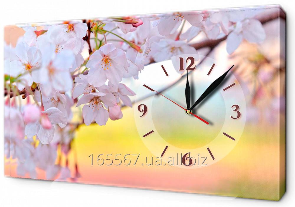 Часы-картина на холсте 30 х 53 см CH24