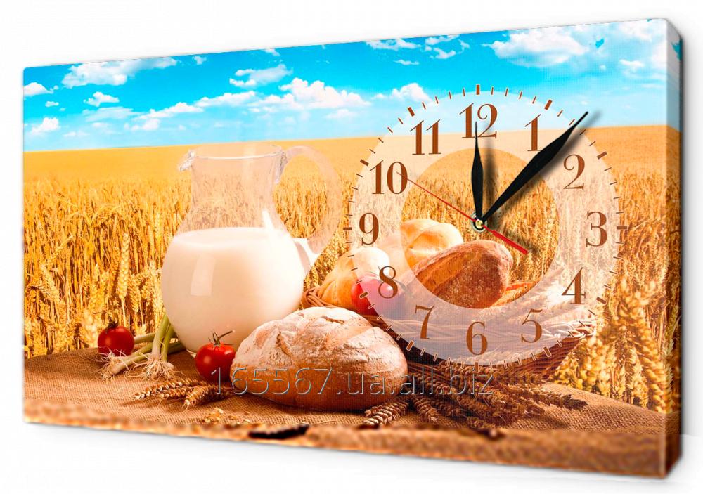 Часы-картины на холсте 30 х 53 см CH30