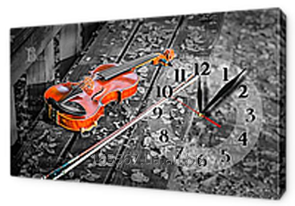 Часы-картины на холсте 30 х 53 см CH85