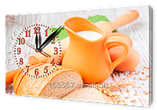 Часы на холсте 30 х 53 см CH88