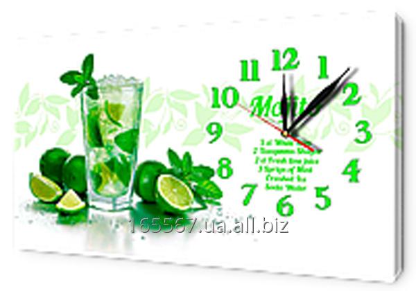 Часы на холсте 30 х 53 см CH89