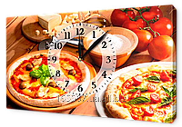 Часы-картина на холсте 30 х 53 см CH90