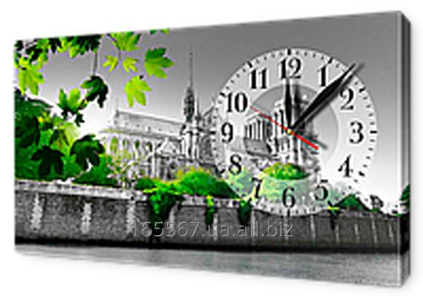 Часы-картина на холсте 30 х 53 см CH99
