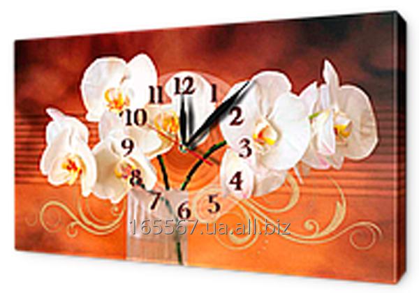 Часы-картины на холсте 30 х 53 см CH100