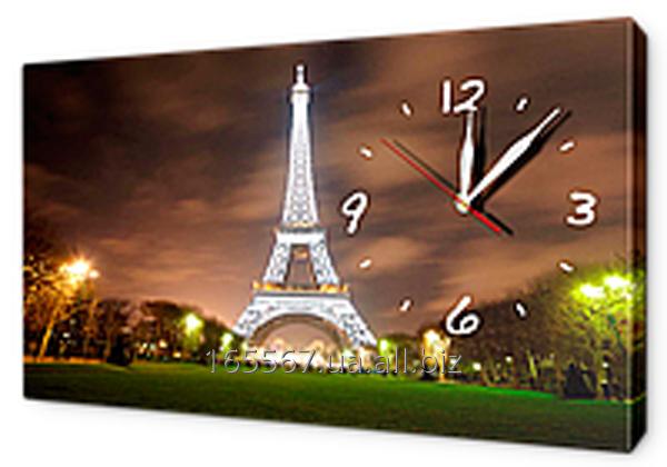 Часы-картина на холсте 30 х 53 см G152