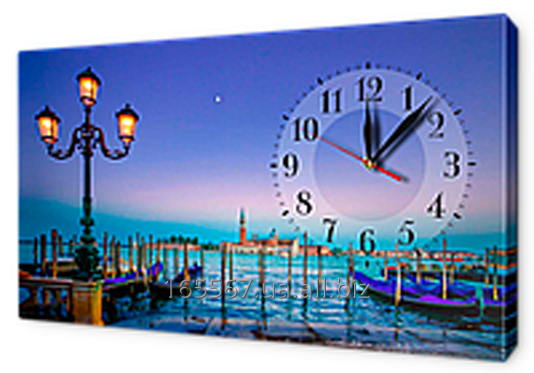 Часы-картина на холсте 30 х 53 см G205