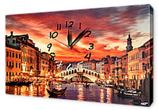 Часы-картина на холсте 30 х 53 см G414