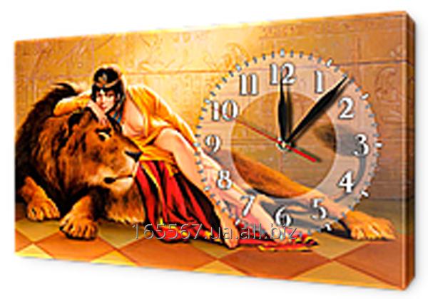 Часы на холсте 30 х 53 см K20