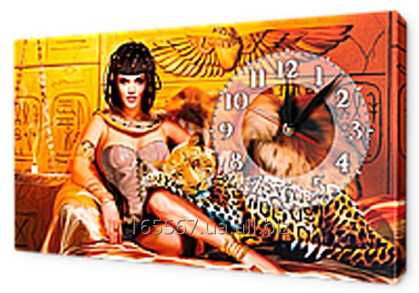Часы-картина на холсте 30 х 53 см K374