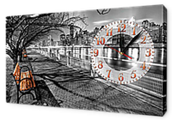 Часы на холсте 30 х 53 см K592
