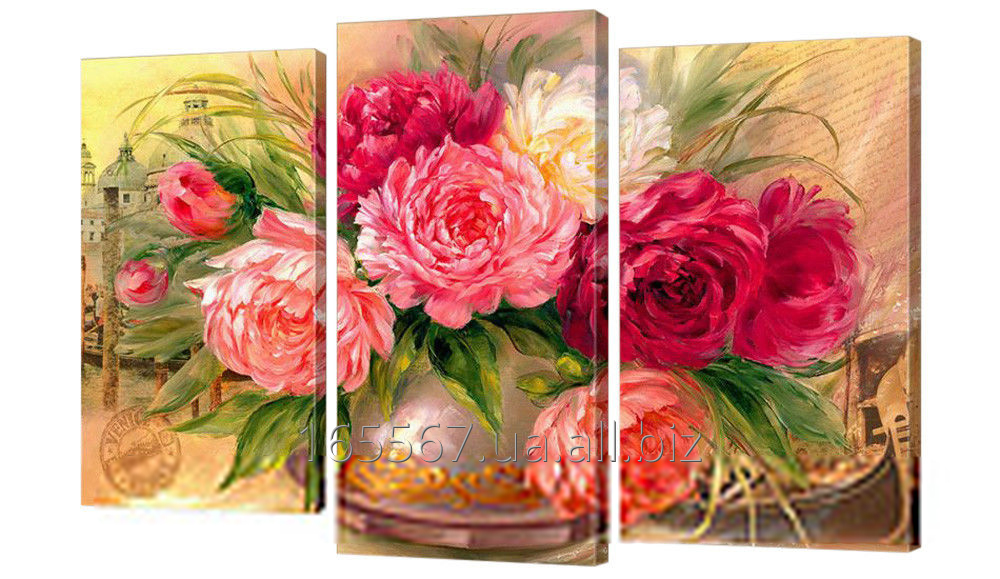 Buy Picture modular 260th peonies