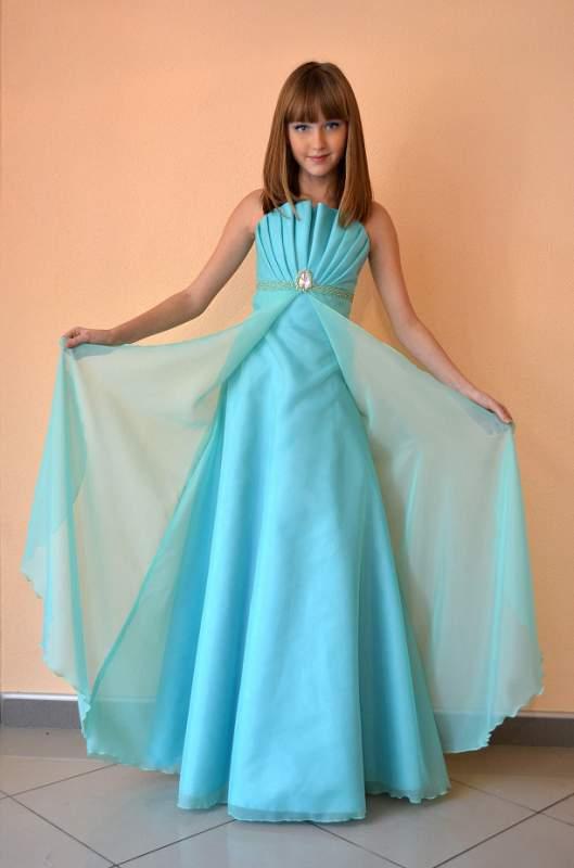99a90f46b54 Вечерее платье для девочек 5-12 лет