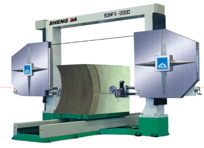 Buy KFS-2000/2500 Rope machines for cutting of blocks and figured cutting from natural stone (analog - SDNFX-2000)