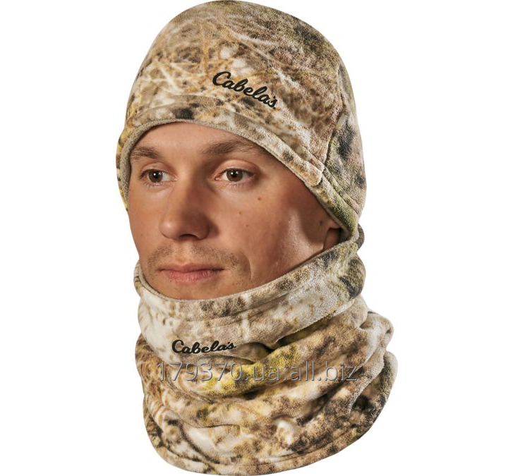 Шапка и воротник Cabela's Reversible Ultimate Fleece Beanie/Gaiter Combo