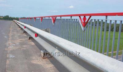 Купить Мостовые металлические ограждения