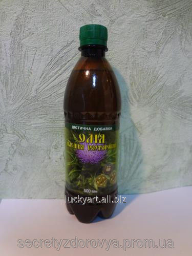 Buy Oil from thistle seeds 0,5l