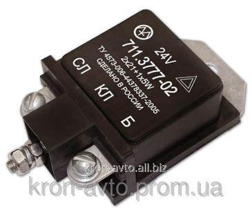 Купить Прерыватель указателей поворота и аварийной сигнализации 711.3777-02 аналог РС 401 Энергомаш