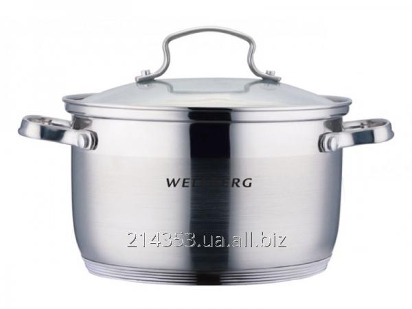 Кастрюля WellBerg WB-02177 6,3л