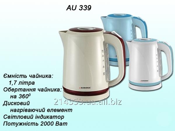 Електрочайник AU339а 1,7л/диск.(2000Вт) ТМ Aurora