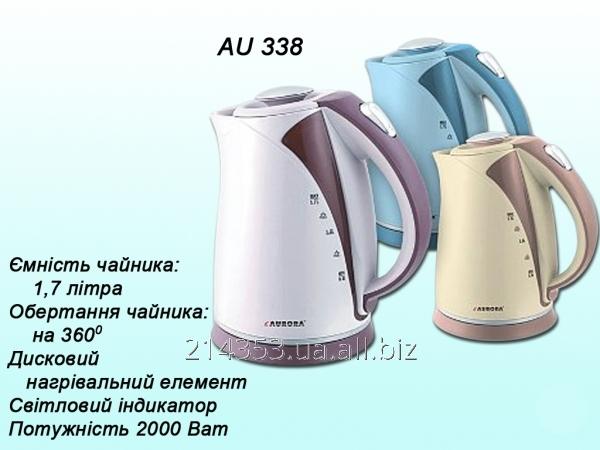 Електрочайник AU338а 1,7л/диск.(2000Вт) ТМ Aurora