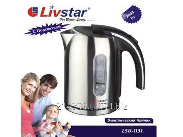 Електрочайник LSU 1131 (2000Вт) 1,7л нерж.ТМ LivStar