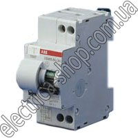 Купить Дифференциальный автомат ABB DS951 1P+N, 10A, 30мА, тип АС