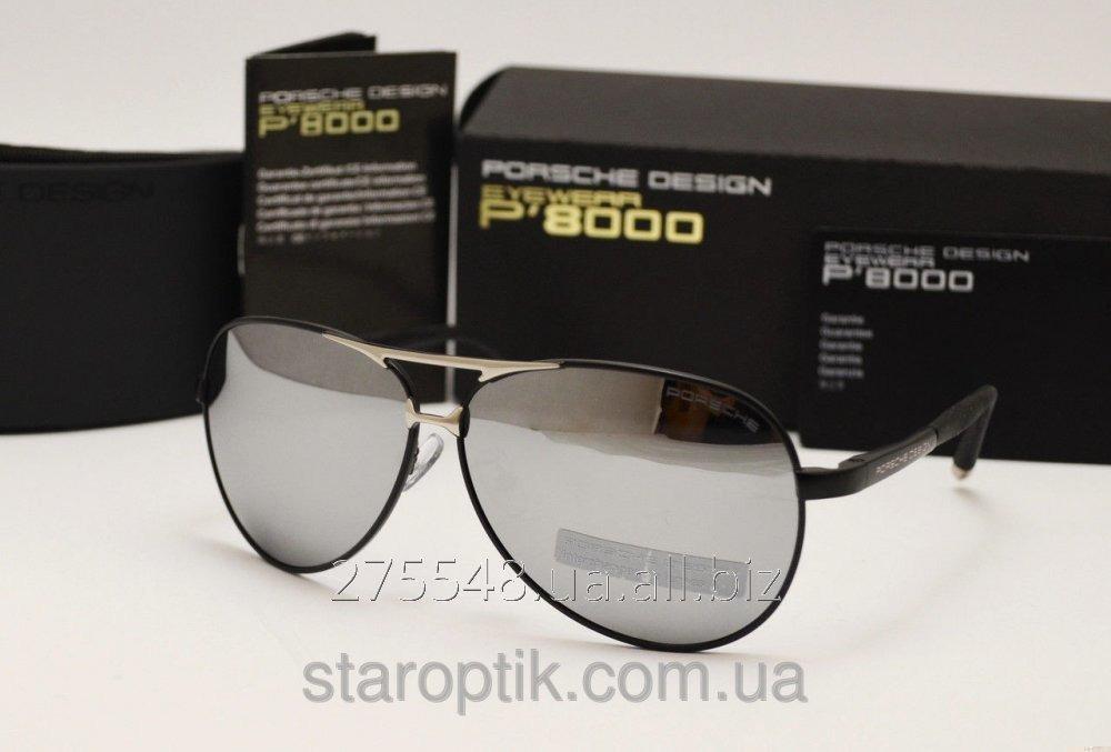 Мужские солнцезащитные очки Porsche Design 8887 черная оправа купить ... 951d88c1f86