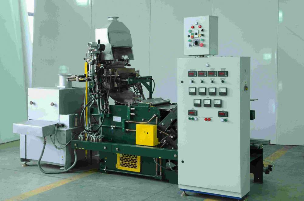 Buy Automatic machine for molding of conductor cables of accumulator lattices