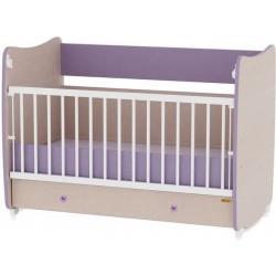 Детская кроватка Bertoni Dream oak/violet