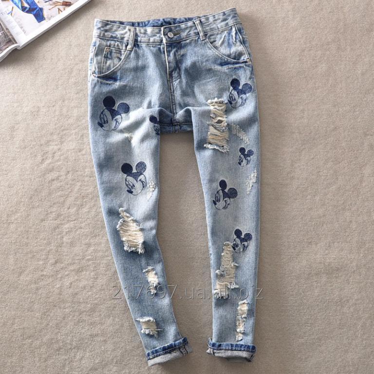 Купить Женские джинсы бойфренды D.C.R Classic