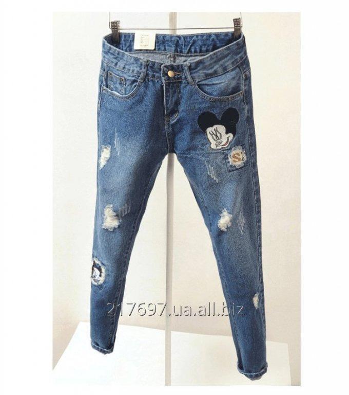 Купить Женские джинсы D.C.R Jeans бойфренды