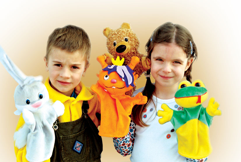 Buy New Year's gifts. Bibabo puppet theater. On an adult and children's hand. Are made of environmentally friendly materials.