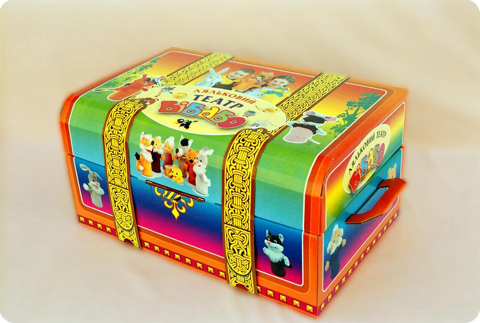 """Купить Большой кукольный театр """"Бибабо"""" (11 героев). На взрослую и детскую руку"""