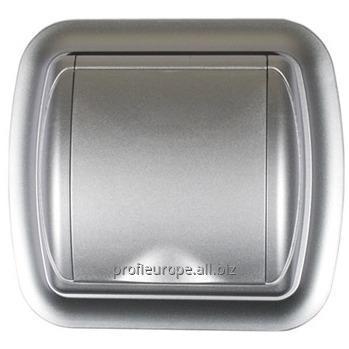 4758 Пневморозетки серии UNO silver