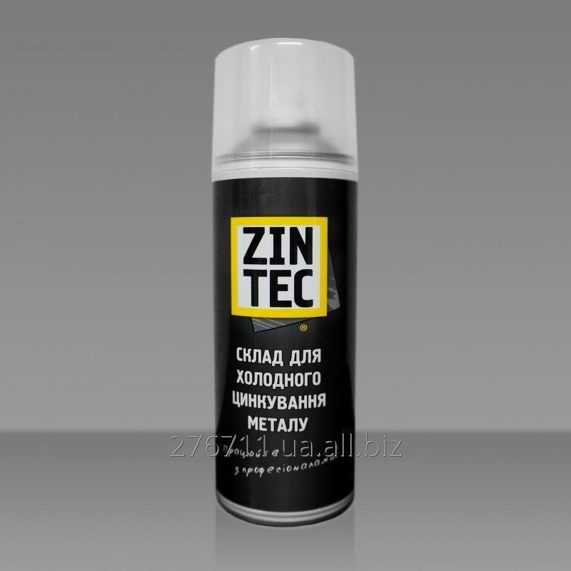 """Купить Оцинковка металла своими руками. Цинковый спрей """"Zintec"""" 520мл"""