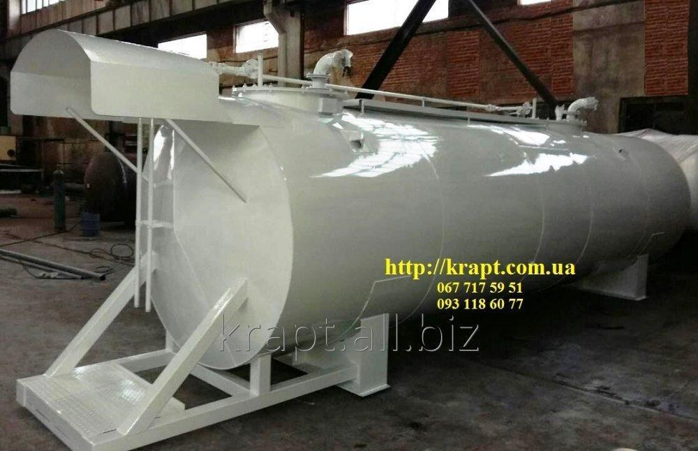 Buy The tank for oil products elevated with a canopy
