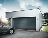 Купить Ворота гаражные секционные. Автоматические ворота гаражные. Оборудованные автоматикой с дистанционным управлением ворот.