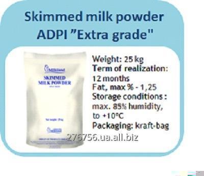 Сухое молоко обезжиренное высший сорт ADPI