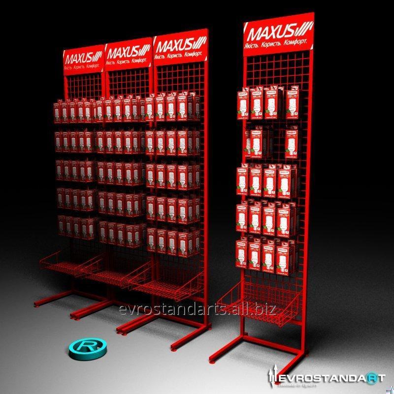 Стойка торговая Максус для лампочек
