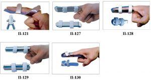 Шини фіксуючі палець П-121, П-127, П-128, П-129, П-130 малі, середі, великі,  артикул 40277