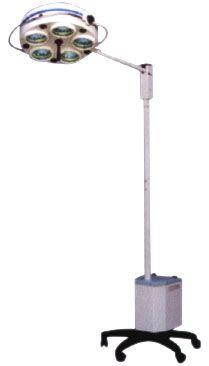 Светильник операционный L 735Е- Биомед пятирефлекторный передвижной аварийное питание,  артикул 30002