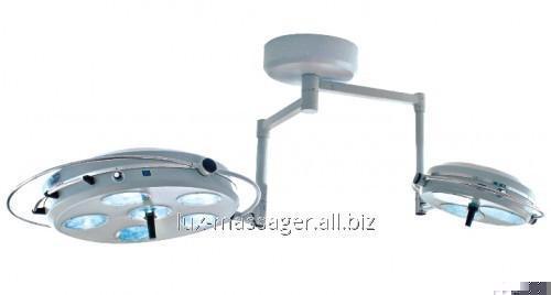 Светильник операционный L2000 6+3-II- Биомед девятирефлекторный потолочный два блока, 6+3,  артикул 1085