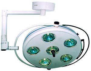 Светильник операционный L2000 6-II- Биомед шестирефлекторный потолочный, артикул 1086