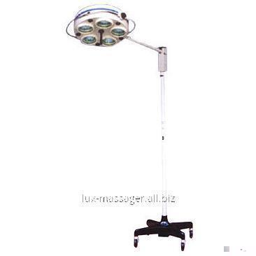 Светильник операционный L735-II- Биомед пятирефлекторный передвижной, артикул 1088