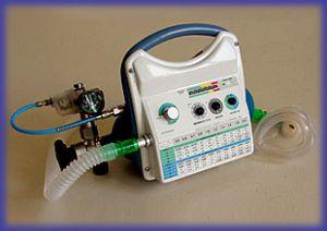 Аппарат искусственной вентиляции легких портативный А-ИВЛ/ВВЛ- ТМТ,  артикул 40006