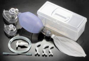 Аппарат искусственной вентиляции легких с ручним управлением Биомед c аксесуарами комплекты  Взрослый,  Педиатрический,  Новорожденный многоразового использования силикон,  артикул 40130