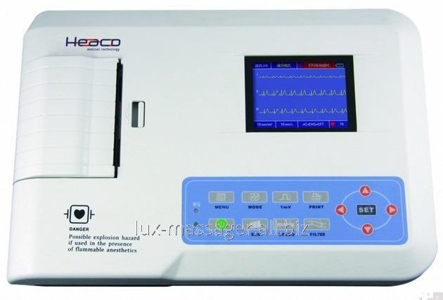 Трехканальный ЭКГ аппарат Heaco 300G, артикул HK0125