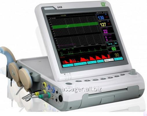 Монитор  фетальный G6B+ с контролем многоплодной беременности, артикул HK076