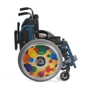 Детская складная инвалидная коляска Kid1